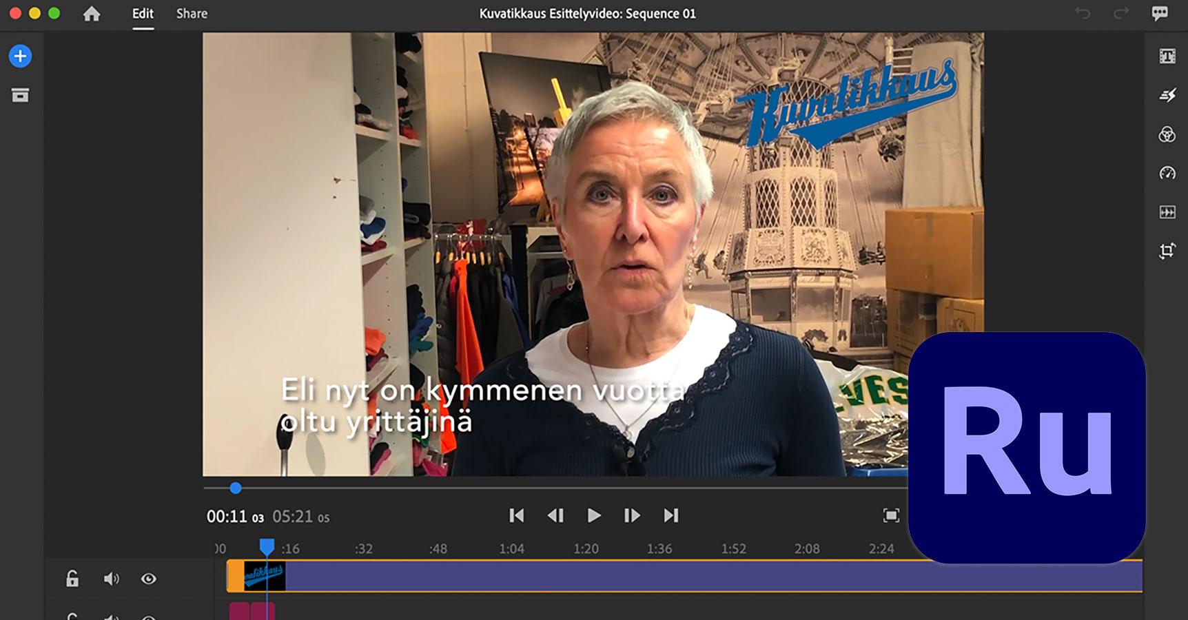 Videon Käsittely Ohjelma
